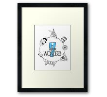 The 7 Wonders of Avatar Framed Print