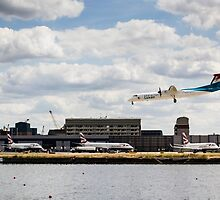 Lux Air London City Airport by DavidHornchurch