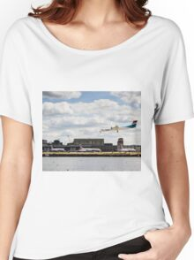 Lux Air London City Airport Women's Relaxed Fit T-Shirt
