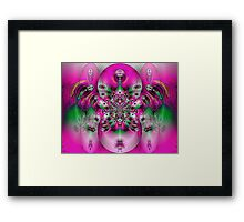 Pink Spidey Framed Print