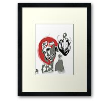 The Larusso Effect Framed Print