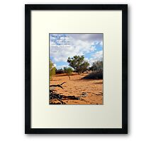 Standing on Holy Ground...  Framed Print