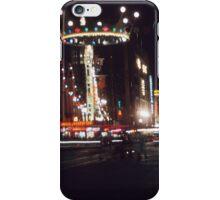 Elizabeth Street night - 1954 iPhone Case/Skin