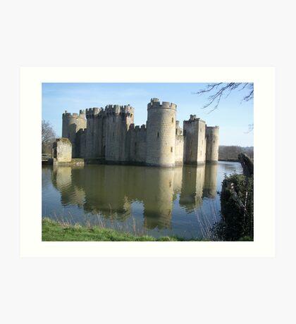 Bodiam Castle Art Print