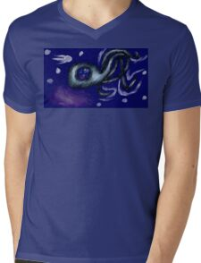 3 Legged Space Squid  Mens V-Neck T-Shirt