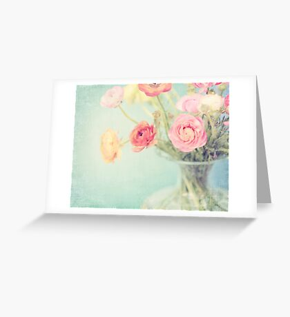 Spring Pastels Greeting Card