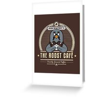 the Roost Café Greeting Card