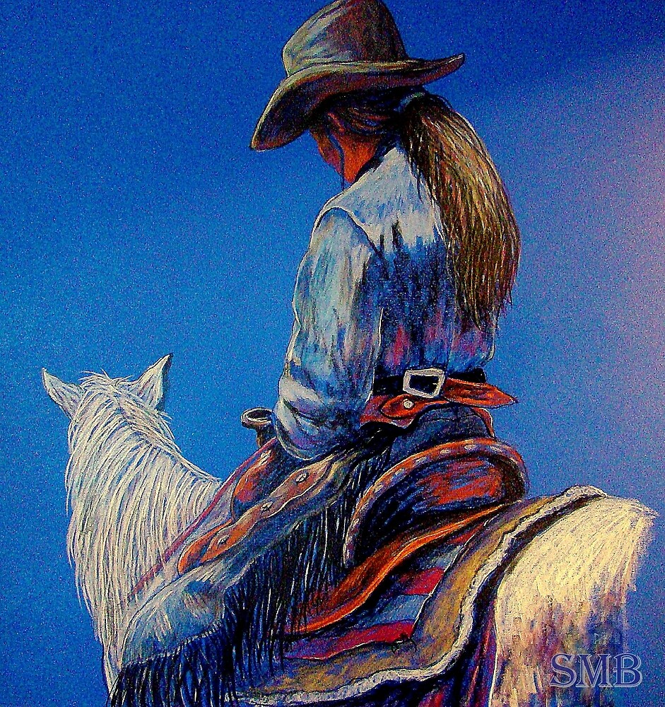 """""""Cowgirl Blues"""" by Susan Bergstrom"""