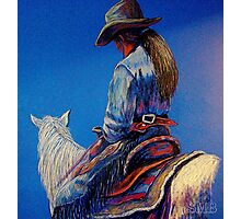 """""""Cowgirl Blues"""" Photographic Print"""