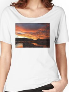 Sunrise At The Marina, Cairns, Queensland, Australia Women's Relaxed Fit T-Shirt