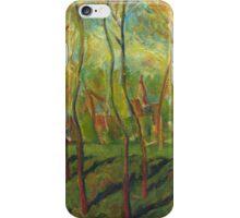 Claude Monet Trees in Winter (author's copy) iPhone Case/Skin