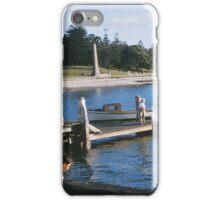 Three Girls on a Pier iPhone Case/Skin