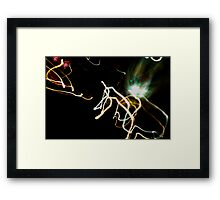 Crazy City 4 Framed Print
