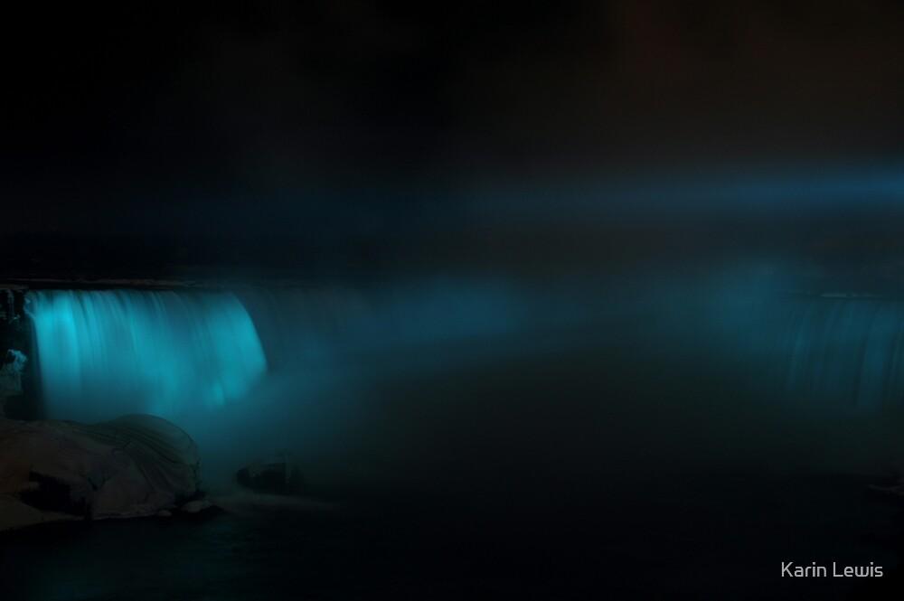 Blue Niagara by Karin Lewis