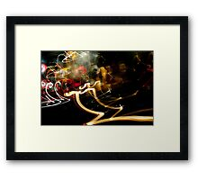 Crazy City 8 Framed Print