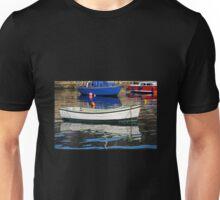 Lyme Regis Harbour Reflections - April Unisex T-Shirt
