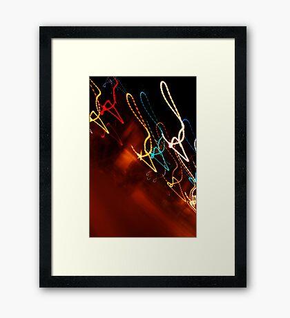 Crazy City 14 Framed Print