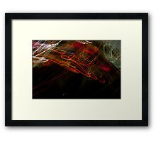 Crazy City 15 Framed Print