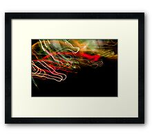 Crazy City 17 Framed Print