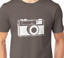 35mm camera (white) Unisex T-Shirt