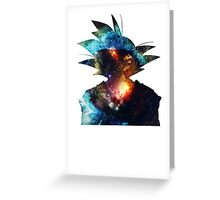 Universe Goku Greeting Card