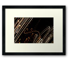 Crazy City 23 Framed Print