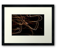 Crazy City 25 Framed Print