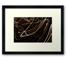 Crazy City 30 Framed Print