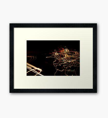 Crazy City 33 Framed Print