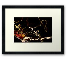 Crazy City 34 Framed Print