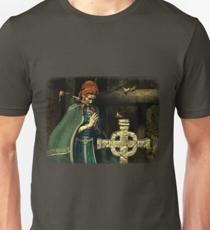 Iaconagraphy: For the Birds: Prayer of the Birds Unisex T-Shirt