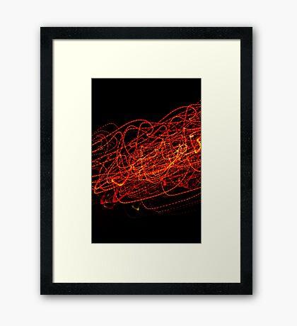Crazy City 38 Framed Print