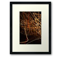 Crazy City 37 Framed Print