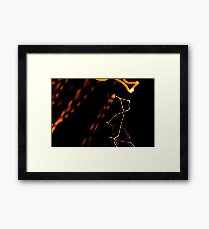 Crazy City 43 Framed Print