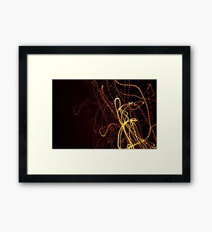 Crazy City 44 Framed Print