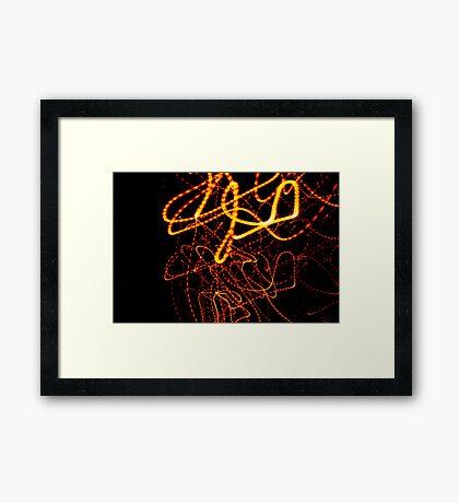 Crazy City 45 Framed Print