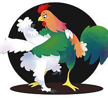 Pollo Y Gallo (Chicken Dance) by SpiffyChicken