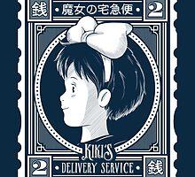 Kiki's Postage Stamp by owlhaus