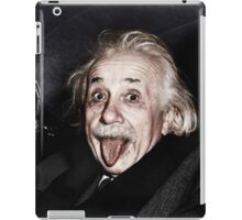 Einstein Colourised iPad Case/Skin