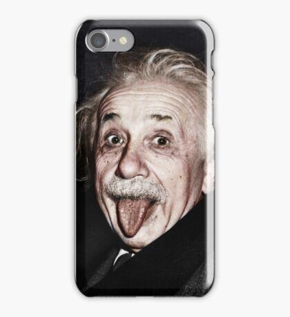 Einstein Colourised iPhone Case/Skin