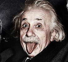 Einstein Colourised by ---REVIVE---