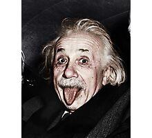 Einstein Colourised Photographic Print