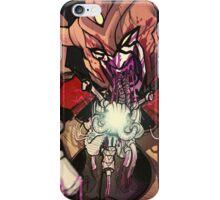 unicron devours optimus prime iPhone Case/Skin