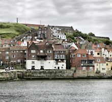 Whitby Harbour 1 by Paul Thompson Photography