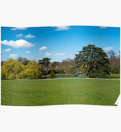 Leeds Castle Grounds: Kent UK Poster
