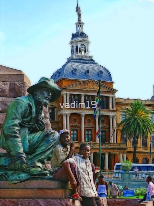 Quot Church Square Pretoria South Africa Quot By Vadim19 Redbubble