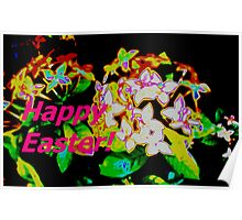 Easter Ixora Poster