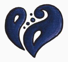 Strength / قوة (blue) by Jez Sellers
