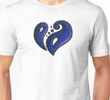 Strength / قوة (blue) Unisex T-Shirt