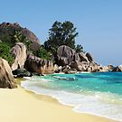 ANSE SOURCE D&#x27;ARGENT - SEYCHELLES by Michael Sheridan